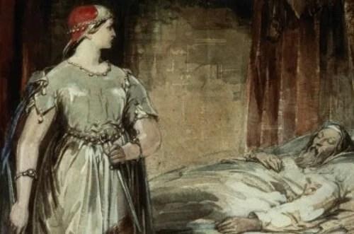 Imagem representando o efeito Lady Macbeth