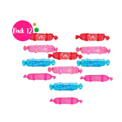 12 Lapiceras en Forma de Dulce de Color