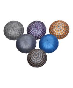 Sombrilla de Bastón Escocés Filtro UV