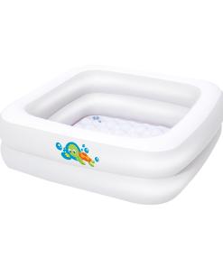 Bañera Inflable Cuadrada para Bebé