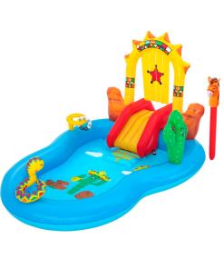 Parque Acuático Inflable Diseño del Oeste Infantil