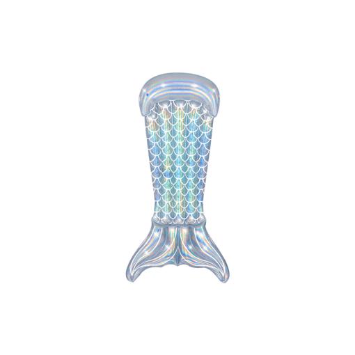 Inflable Flotador Cola de Sirena Tornasol