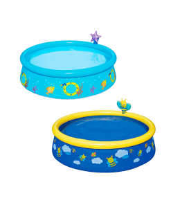 Alberca Inflable Circular Infantil con Rociador