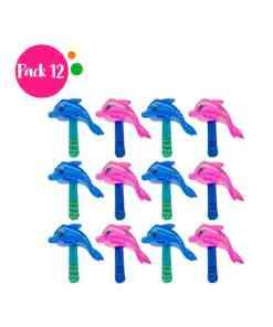 Paquete de 12 Inflables en Forma de Delfín