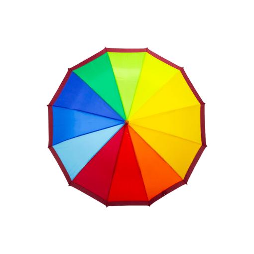 Paraguas Sombrilla Arcoíris Semiautomático