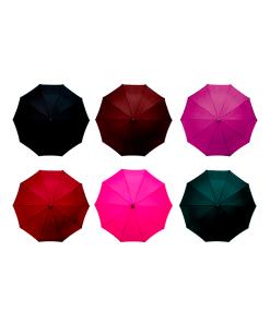 Paraguas Sombrilla Color Liso Semiautomático