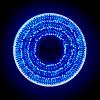 Serie Navideña 300 Focos Luz Azul 14 Mts