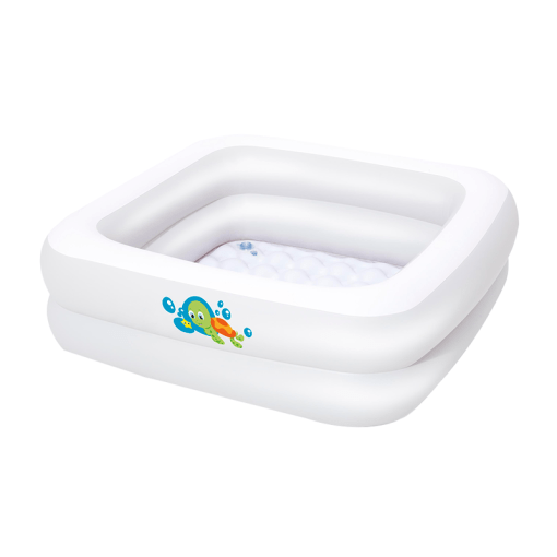 Bañera Inflable Cuadrada Para Bebé 86 cm