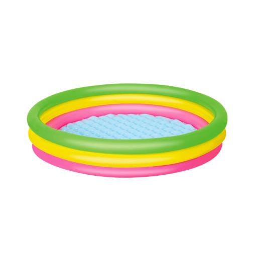 Alberca Inflable Diseño De Colores Infantil