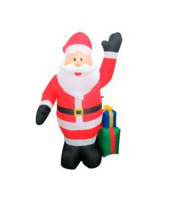 Inflable Navideña Santa Claus Regalos 2.40 Mts