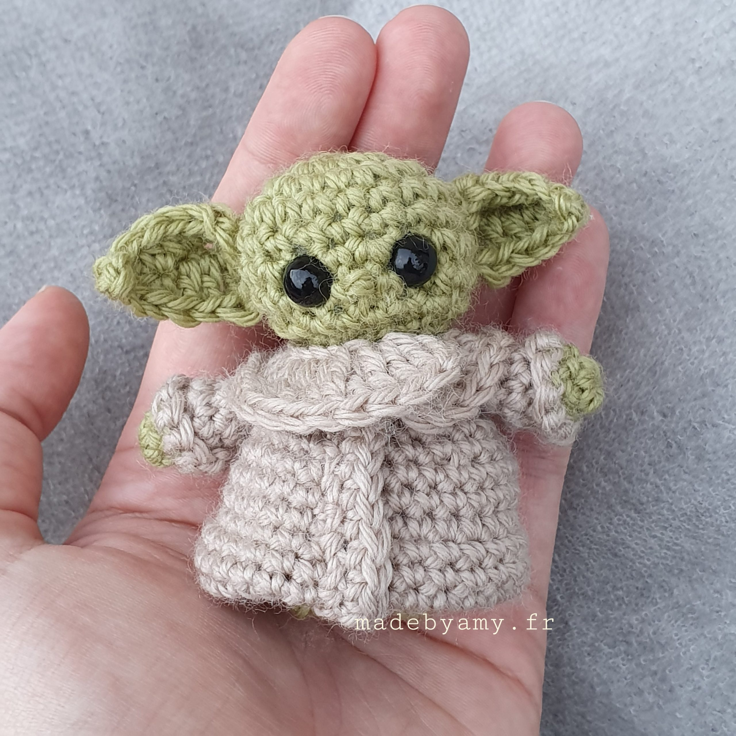 Ravelry: The Child/Baby Yoda Amigurumi pattern by hooked on fandom | 2560x2560