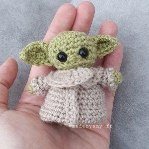 Patron Amigurumi : Bébé Yoda