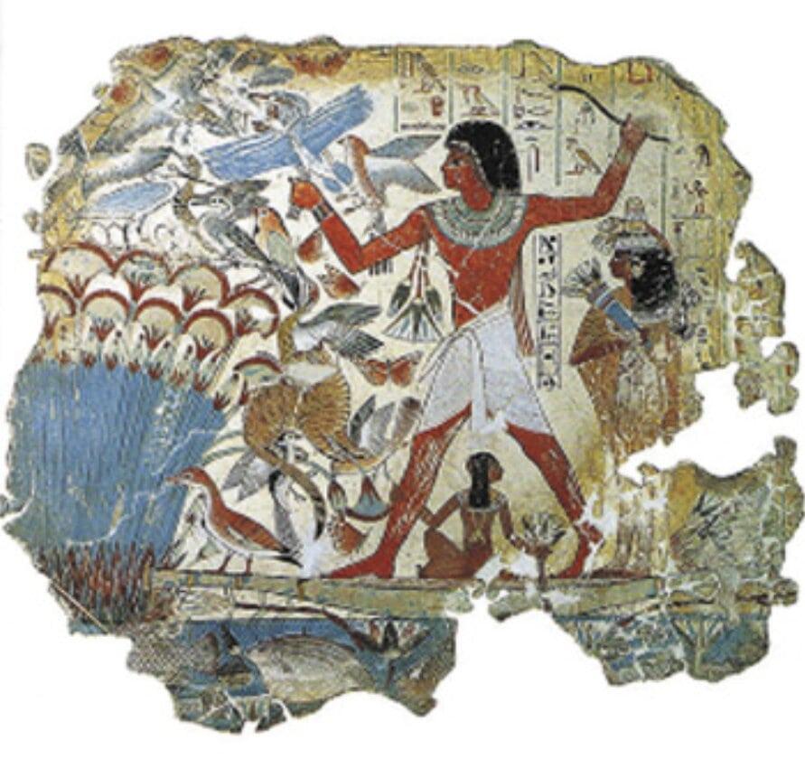 mesa-habla-patos-ocas-grabado-egipcio