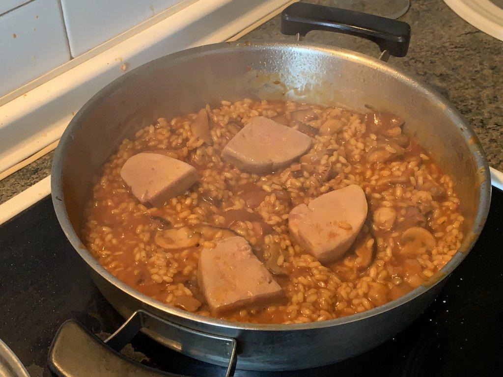 mesa-habla-arroz-meloso-setas-foie 11
