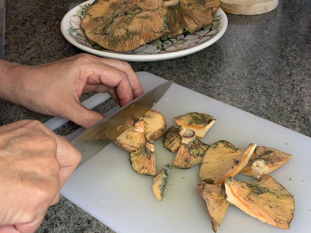 mesa-habla-arroz-meloso-setas-foie 2