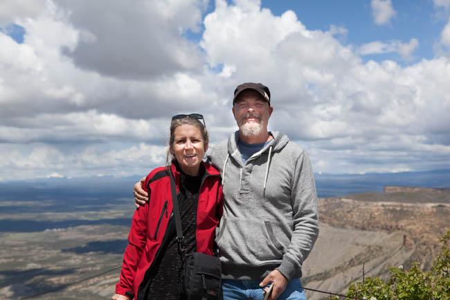 Mesa Verde National Park, near Cortez Colorado, La Mesa RV Park
