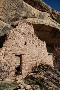 Ruins in Mesa Verde