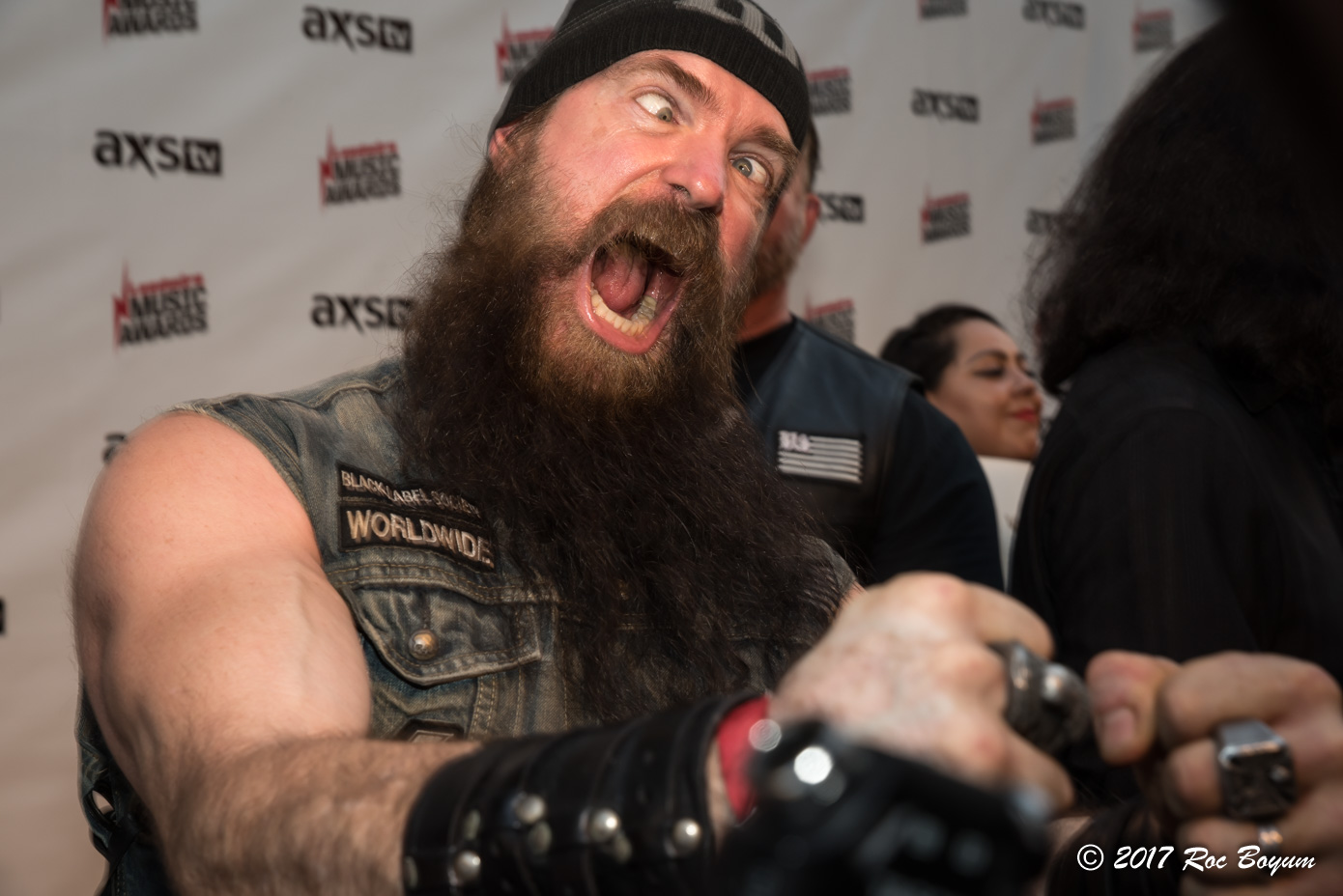 Zakk Wylde Loudwire Music Awards Black Carpet