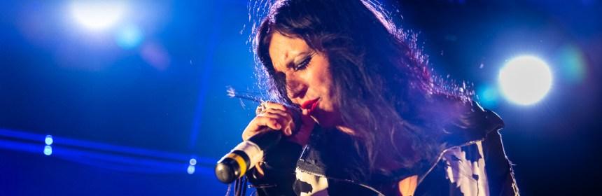 Lacuna Coil Cristina Scabbia Live Regent Theater Los Angeles