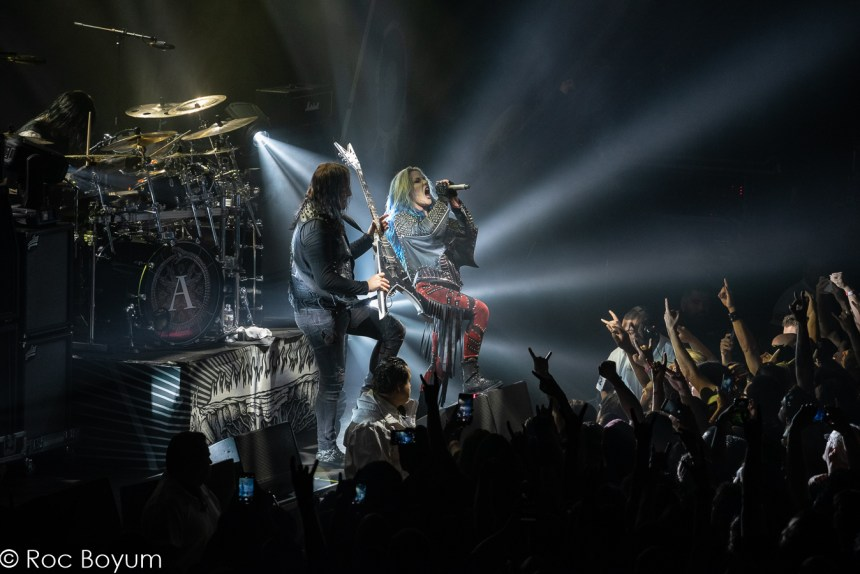 Arch Enemy live Hollywood Palladium Hollywood CA