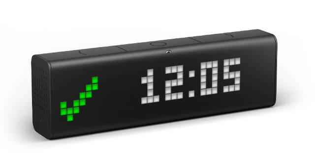 connected clock for a