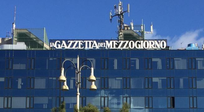 La Gazzetta del Mezzogiono: Da domani nuovamente in edicola