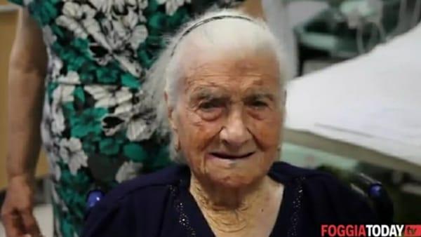 Maria Giuseppina Robucci: è di Poggio Imperiale la persona più anziana d'Europa