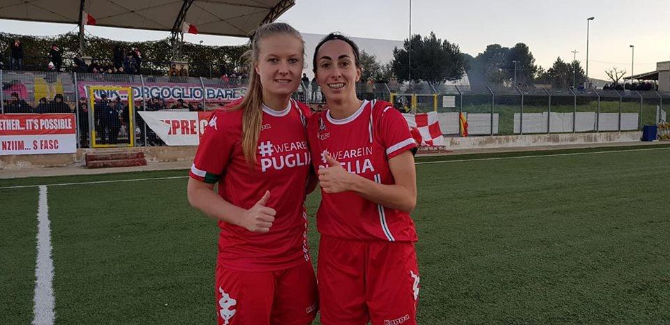 Serie A: La Pink Bari soffre la tripletta di Rinaldi