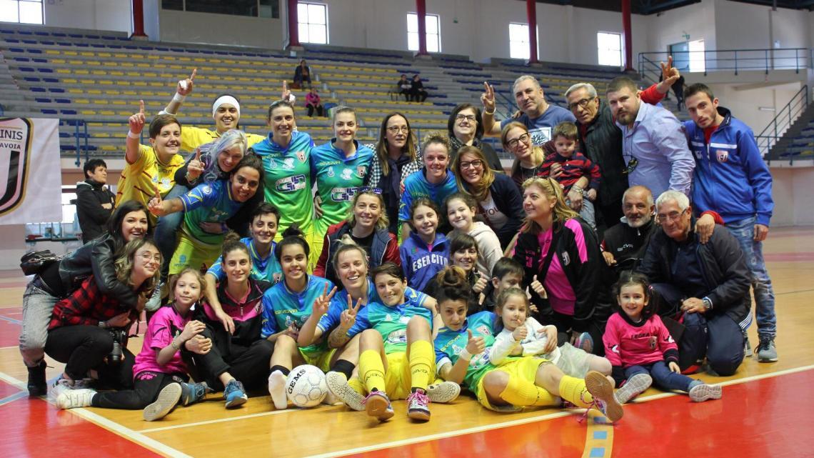 Futsal, La Salinis regina della Classifica. Il Bisceglie Femminile ai Play-out