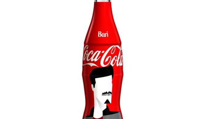 Coca- Cola dedica bottiglie a sei città italiane: in Puglia tocca a Bari