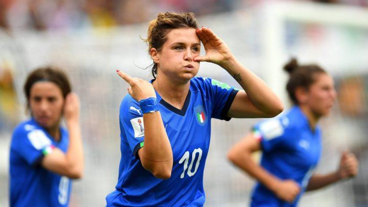 Italia femminile capolista del girone C: i Pugliesi urlano il nome di Cristiana Girelli!