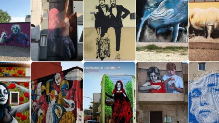 A Stornara (Fg) la Street Art abbellisce edifici e palazzine