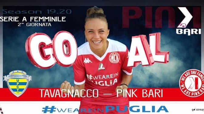 Calcio Femminile:  La Pink Bari incassa la prima sconfitta.