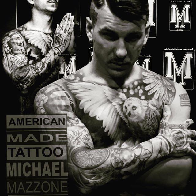 Michael Mazzone, dalla Puglia in America per tatuare le celebrità