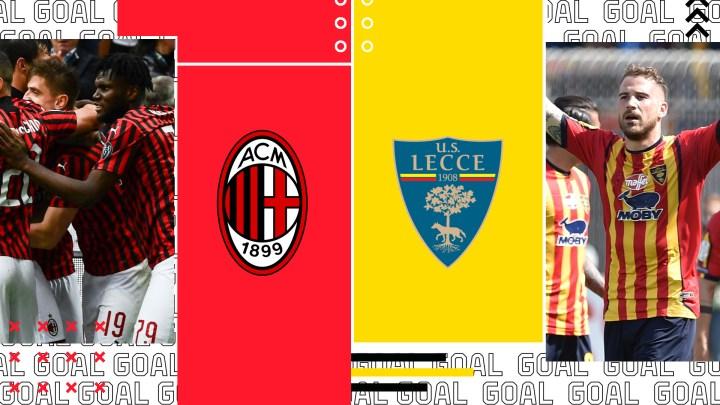 Calcio: il Lecce recupera sul Milan. Il Bari concede la parità all'Avellino e l'Audace cede al Sorrento.