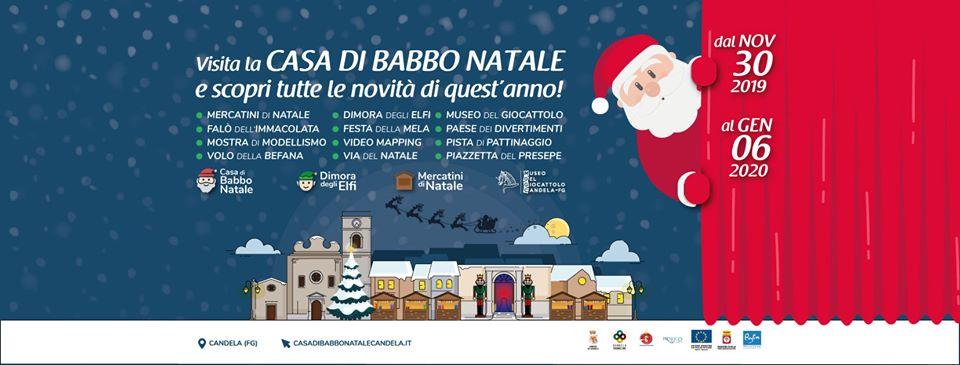A Candela (Fg) il Natale comincia dal 30 Novembre