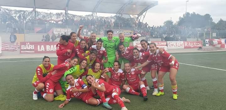 Calcio femminile: Niente da fare per la Pink Bari