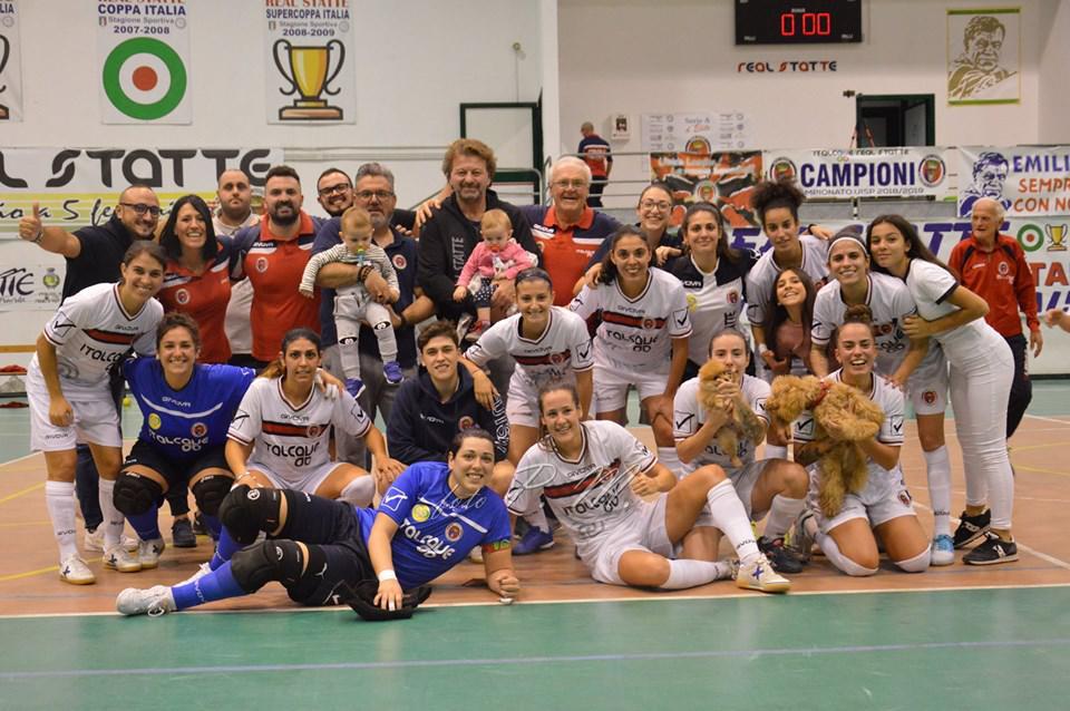 Futsal Femminile: Lo Statte vince il derby contro la Salinis. Il Molfetta fa poker e il Bitonto resta in vetta.