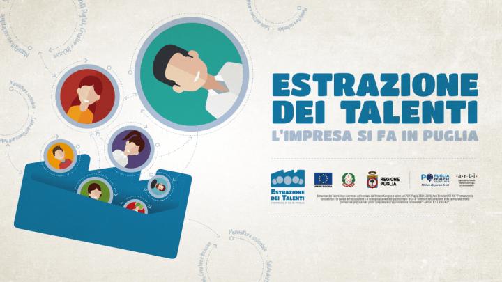 Estrazione dei Talenti Puglia: percorsi di accompagnamento per aspiranti imprenditori