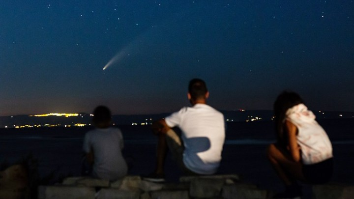 Cometa Neowise 2020 nel cielo di Puglia: vari avvistamenti nella regione