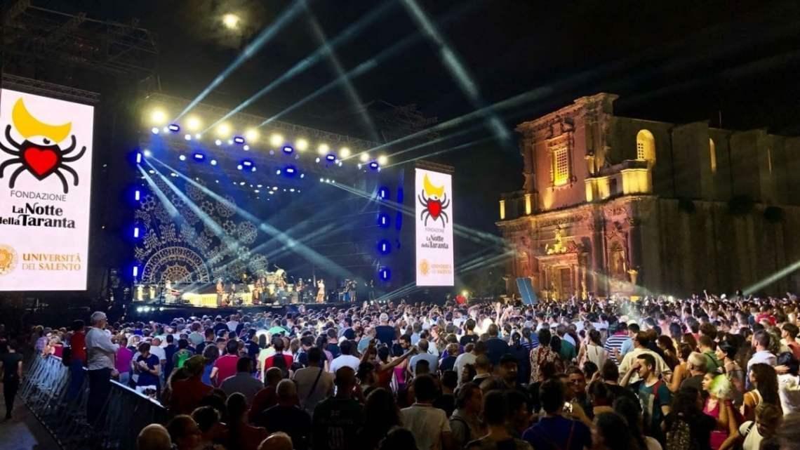 Il Covid ferma il Festival della Taranta: il Concertone si farà, ma a porte chiuse