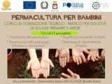 Permacultura per Bambini: a Cerignola (Fg) un corso gratuito per docenti di scuole primarie e medie