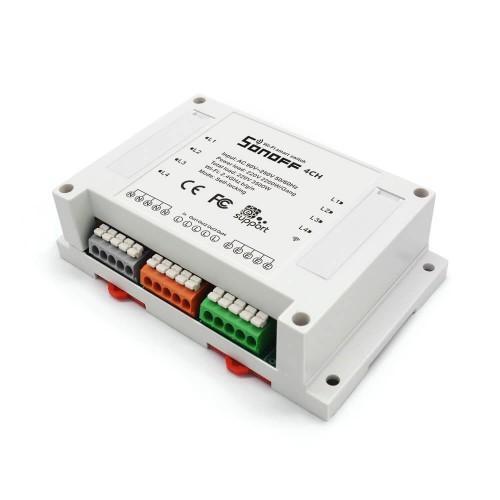 Interruttore WiFi Sonoff 4CH Pro