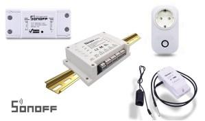 Sonoff WiFi istruzioni italiano contatto pulito Sonoff 4CH Pro tapparelle elettriche