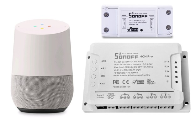 Sonoff Google Home