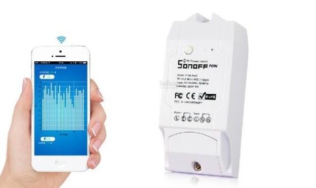 Sonoff Pow R2: interruttore WiFi e misuratore energia elettrica consumata