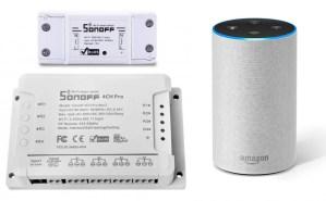 Sonoff Amazon Alexa Amazon Echo: recensione e guida in italiano