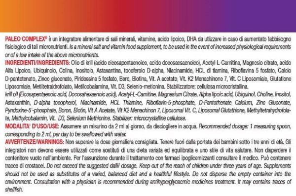 PaleoComplex ingredienti
