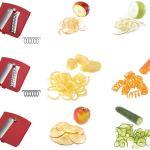 Accessori – Westmark Affettaverdure spiromat Utensili da Cucina, Acciaio Inossidabile