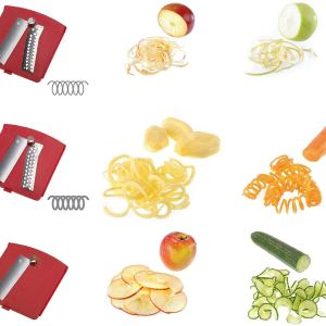 Accessori - Westmark Affettaverdure spiromat Utensili da Cucina, Acciaio Inossidabile
